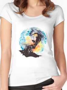 The Illusive Man Women's Fitted Scoop T-Shirt