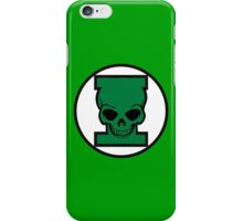 Green Skull iPhone Case/Skin