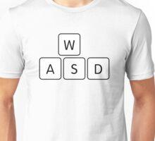 WASD Gaming Keys Unisex T-Shirt