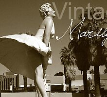 Vintage Marilyn  Postcard 2 of 4 by LHstudio