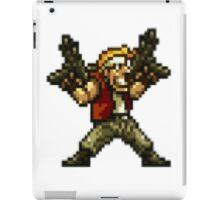Marco Rossi (two machine guns) iPad Case/Skin