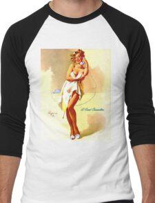 Gil Elvgren Appreciation T-Shirt no. 01 Men's Baseball ¾ T-Shirt