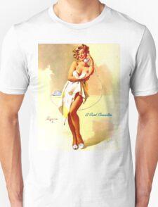 Gil Elvgren Appreciation T-Shirt no. 01 Unisex T-Shirt