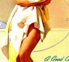 Gil Elvgren Appreciation T-Shirt no. 01 Sticker