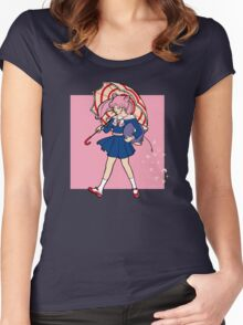 Salty Magical Girl Women's Fitted Scoop T-Shirt