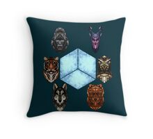 Teenagers with a death wish Throw Pillow