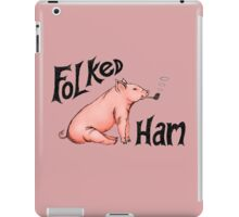 Folked Ham iPad Case/Skin