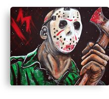 Jason 13 Canvas Print