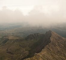 Crib Goch Snowdon by Blackleaf79