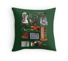 Objects of Elementary Throw Pillow