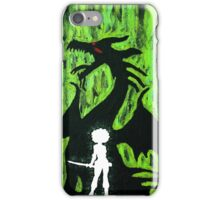 A Girl and Her Dragon iPhone Case/Skin