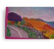 Colorful Road Canvas Print