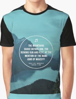 King of Majesty Graphic T-Shirt
