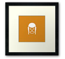 barbarians with hat Framed Print