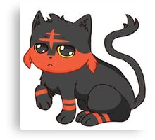 Litten- Pokemon Canvas Print