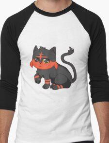 Litten- Pokemon Men's Baseball ¾ T-Shirt