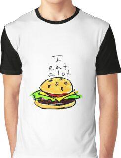 I Eat A Lot Graphic T-Shirt