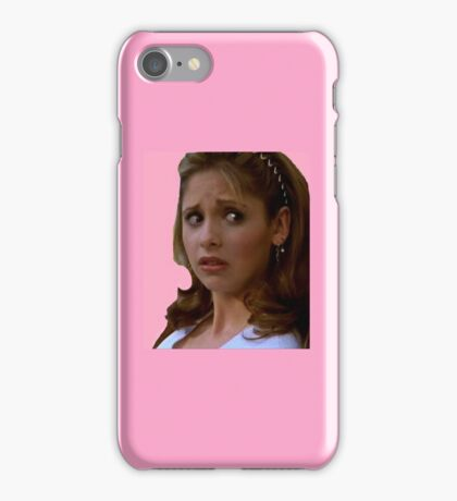Pink Buffy Summers iPhone Case/Skin