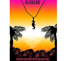 Bloodline Sunset  Photographic Print