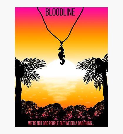 Bloodline Sunset  Photographic Print