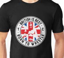 Toby Clements 'British Is Best' Flag Artwork #8 Unisex T-Shirt
