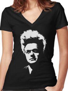 Eraserhead Women's Fitted V-Neck T-Shirt