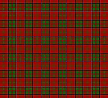 Clan MacDonald Of Glencoe Tartan by thecelticflame