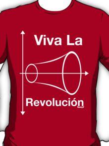 Viva la Revolución (White Text) T-Shirt