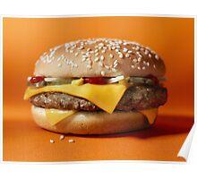 Hamburger Items Poster