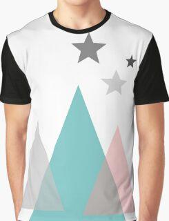 Aqua - Huts Graphic T-Shirt