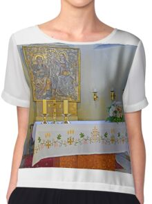 Altar in Jak Church Chiffon Top
