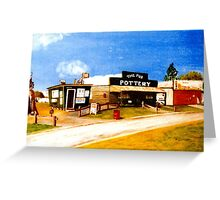 Ettamogah Comedy Cop Shop Australia Greeting Card