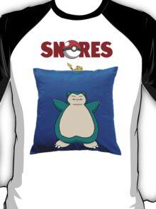 Snorlax Jaws Mashup T-Shirt