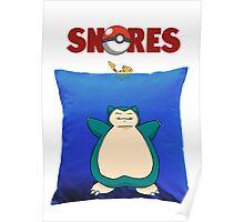 Snorlax Jaws Mashup Poster