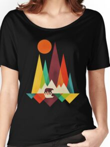 mountain bear Women's Relaxed Fit T-Shirt