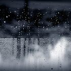 rain abstract by Marianna Tankelevich