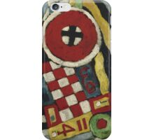 Marsden Hartley - Berlin Abstraction. Abstract painting: abstract art, geometric, expressionism, composition, lines, forms, creative fusion, spot, shape, illusion, fantasy future iPhone Case/Skin