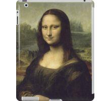 Leonardo Da Vinci - Mona Lisa. Woman portrait: Monna Lisa, Gioconda, smile, enigmatic,  italian, florence, smile gioconda, smile  mona lisa, love, painting , leonardo da vinci paintings iPad Case/Skin
