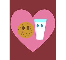 Milk n Cookies Photographic Print
