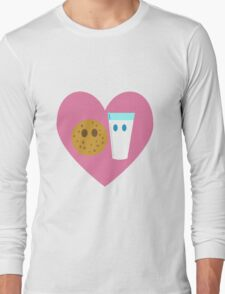 Milk n Cookies Long Sleeve T-Shirt
