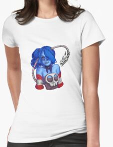 Squigly Bust Womens Fitted T-Shirt