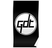 Great Dane Technologies - White Ring Logo Poster