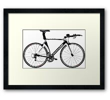Cannondale Bicycle Framed Print