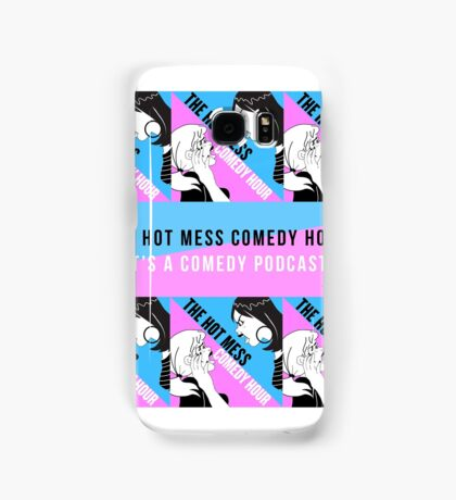 The Hot Mess Comedy Hour Swagger Samsung Galaxy Case/Skin