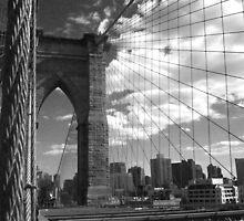 Brooklyn Bridge 2 by Chris Moll