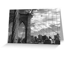 Brooklyn Bridge 2 Greeting Card