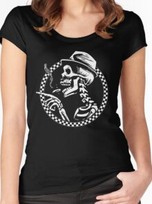 Skull Of Ska Women's Fitted Scoop T-Shirt