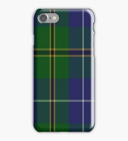 02778 Turnbull Hunting (1983) #2 Clan/Family Tartan  iPhone Case/Skin