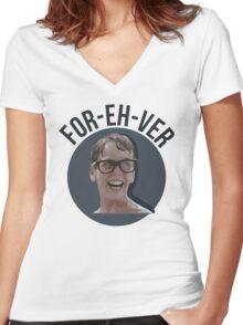 Forever - The Sandlot Women's Fitted V-Neck T-Shirt