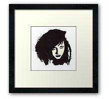 Teenage Jesus & The Jerks - Baby Doll Framed Print
